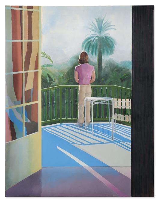 Hockney, Sur la Terrasse (Christie's Images)
