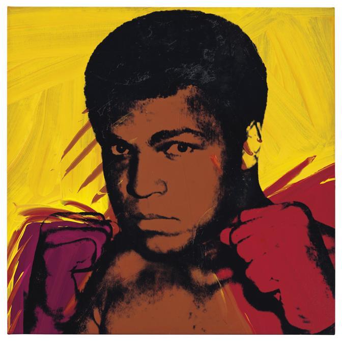 Warhol, Muhammad Ali (Christie's Images)