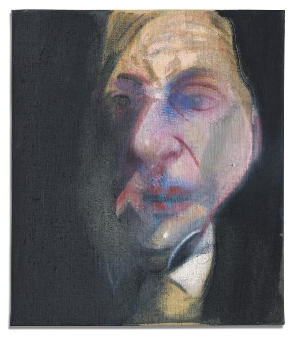 Bacon, Study for Self Portrait  (Christie's Images)