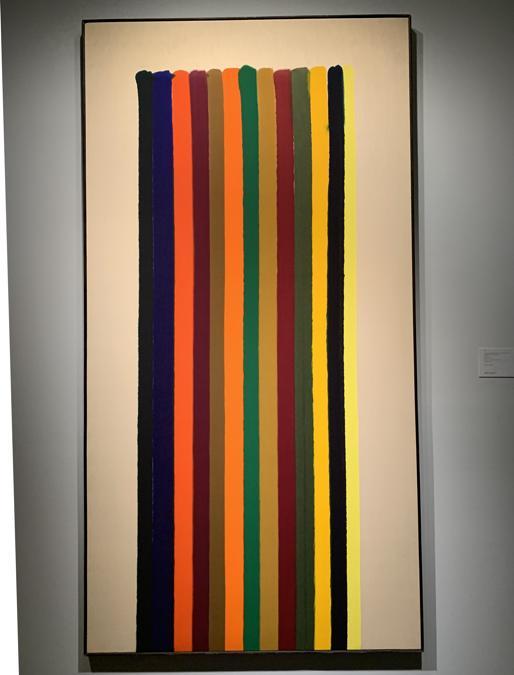 """Morris Louis, """"N. 38"""", 2.000.000-3.000.000 $"""