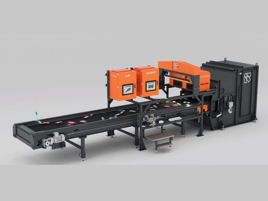 Ecomondo, la nuova macchina per selezione e riciclo di Tomra