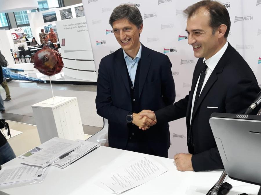 Ecomondo, l'accordo fra Hera e Mc Donalds Emilia Romagna per gli imballaggi sostenibili