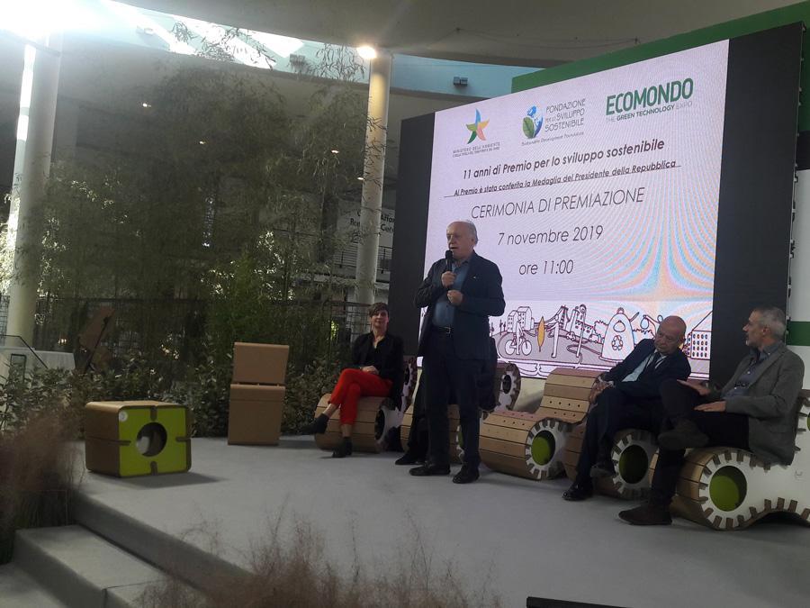 Ecomondo, Premio Sviluppo Sostenibile, Edo Ronchi