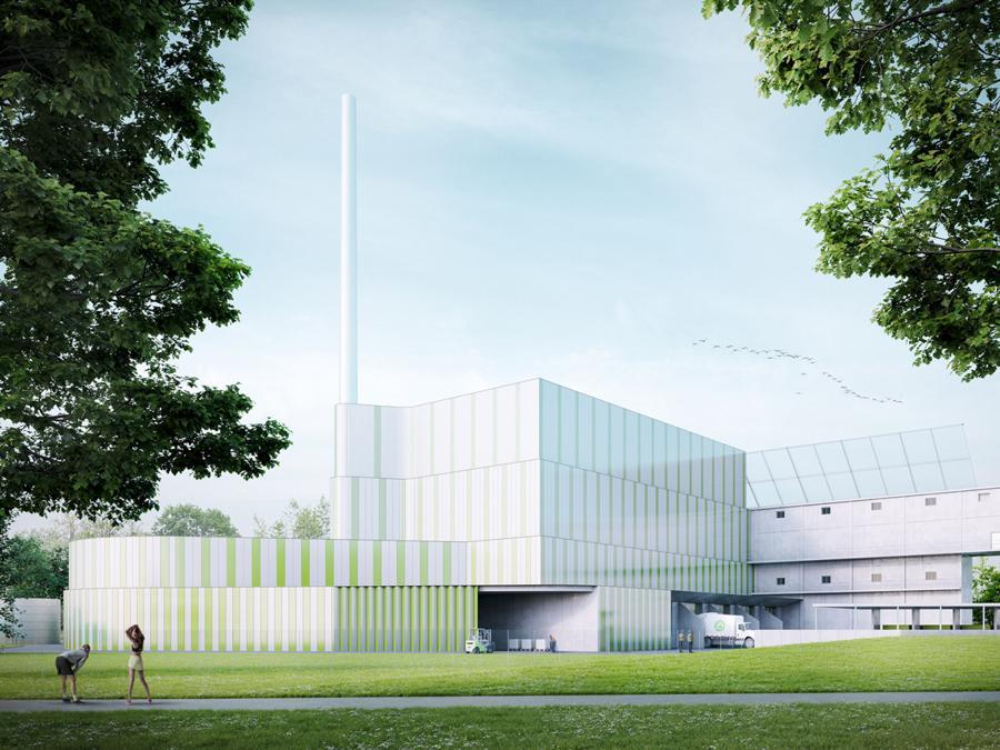 Ecomondo, presentata la biopiattaforma di Sesto San Giovanni, ecco il rendering