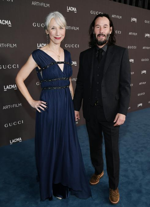 Alexandra Grant e Keanu Reeves (Photo by Neilson Barnard/Getty Images for LACMA)