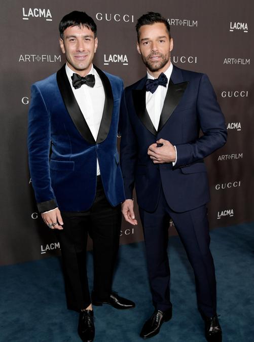 Jwan Yosef e Ricky Martin (Photo by Neilson Barnard/Getty Images for LACMA)