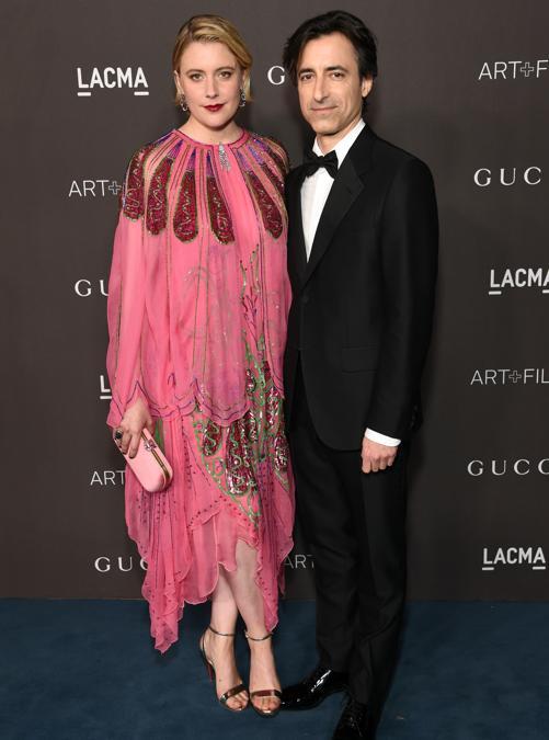 Greta Gerwig e Noah Baumbach (Photo by Michael Kovac/Getty Images for LACMA)