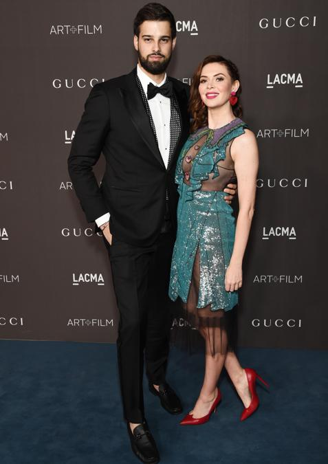 Jacob Andreou e Carly Steel (Photo by Michael Kovac/Getty Images for LACMA)