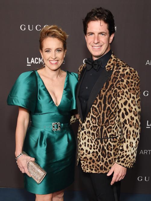 Susanna Mortara e Justin Mortara (Photo by Michael Kovac/Getty Images for LACMA)