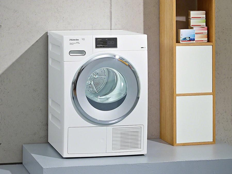 Miele, TMV840, asciugatrice a condensa ad alte prestazioni, A+++, a pompa di calore, da 1 a 9 kg, silenziosa, timer avvio automatico, display con guida all'uso; numerosi programmi studiati per ogni tipo di tessuto e fase di rinfrescatura