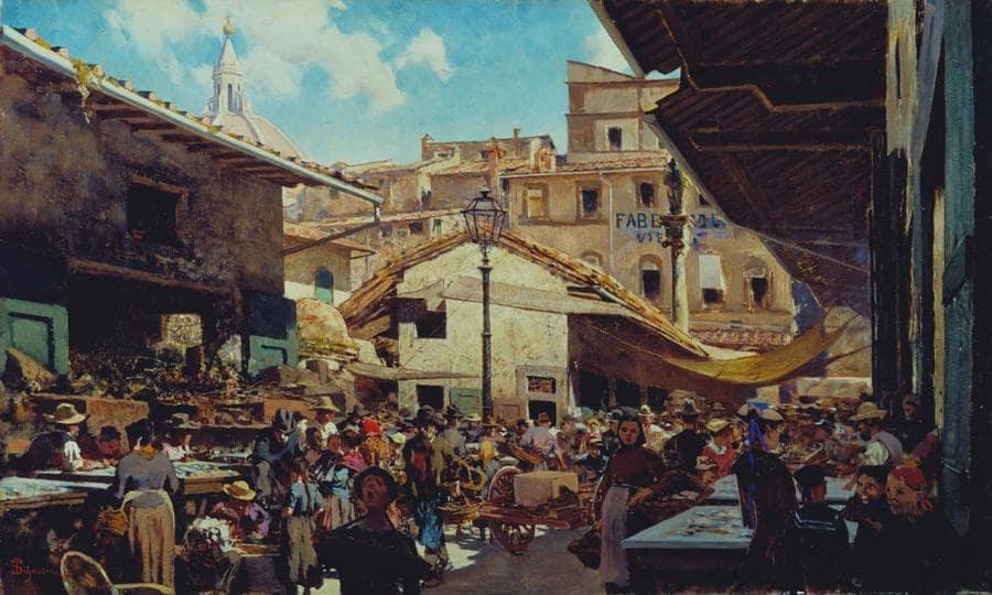 Il vecchio mercato.