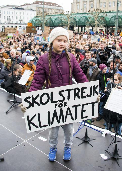 Greta Thunberg(Ap/Daniel Reinhardt)