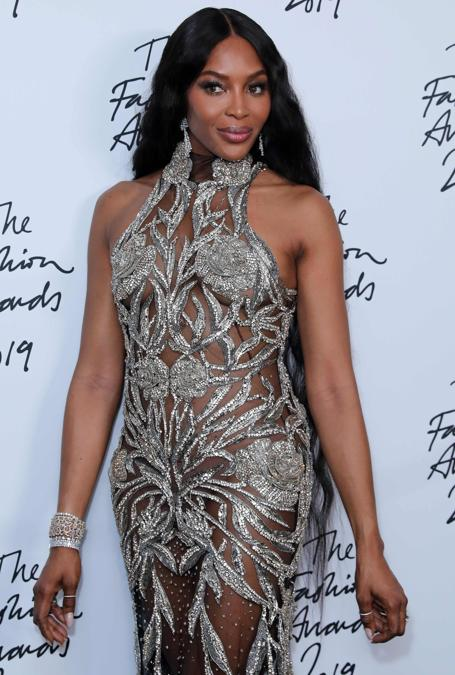 Naomi Campbell (Photo by ISABEL INFANTES / AFP)