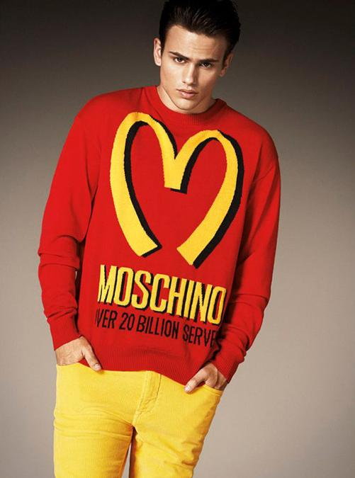 La collezione AI 2014-15 di Moschino, firmata Jeremy Scott
