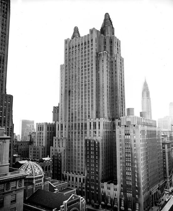 Il  Waldorf-Astoria Hotel nel febbraio 1953 (AP Photo)