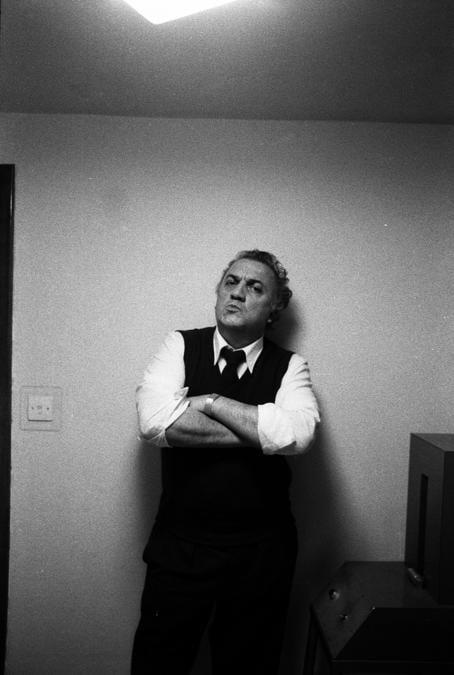 1972 - Ritratto di Federico Fellini a Roma (Photographie ©Sandro Becchetti/Leemage)
