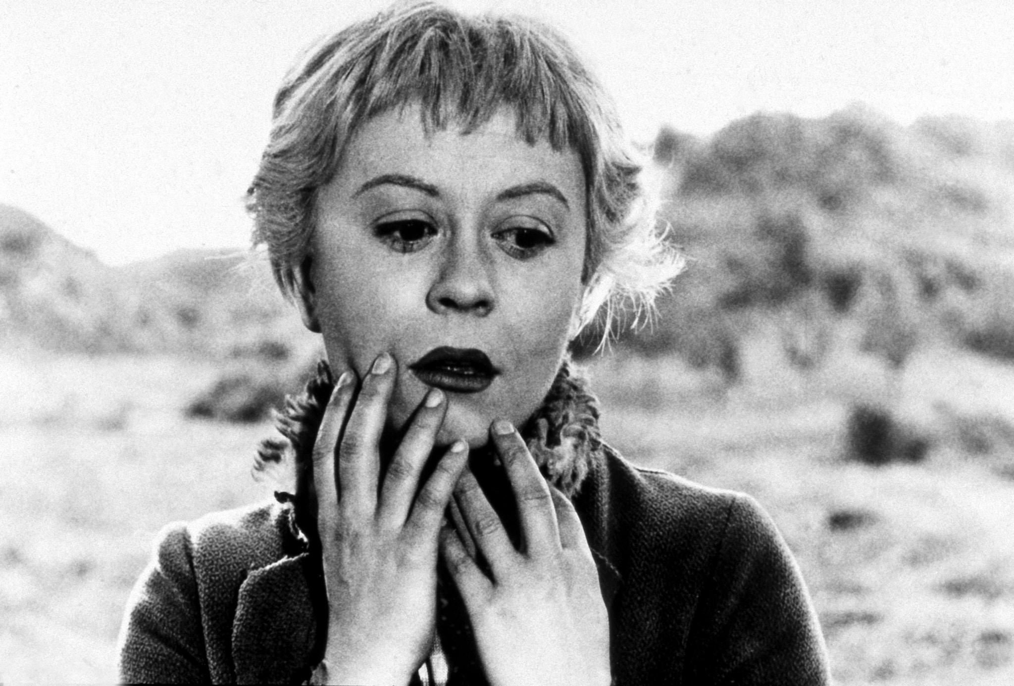 Giulietta Masina nel film «La Strada» del 1954 (Afp)