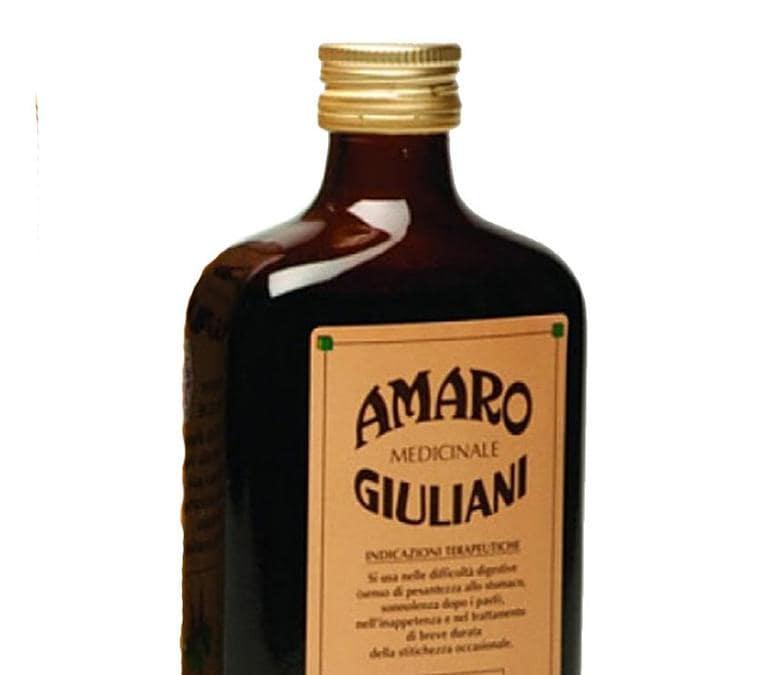 1951. Amaro medicinale Giuliani. Premiato dal Re d'Italia