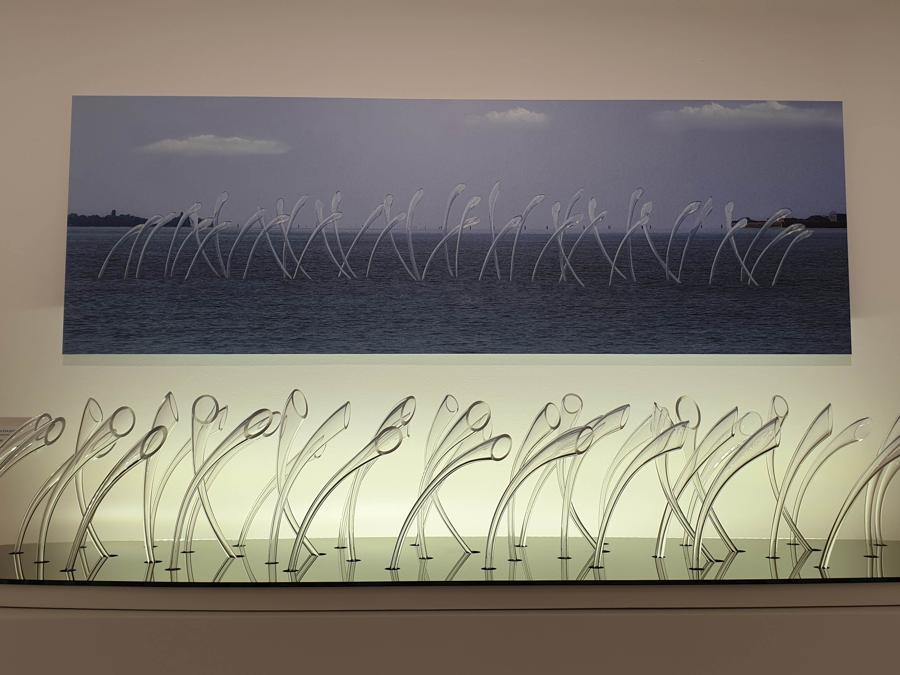 Livio Seguso, Vegetazione 95. Museo del Vetro, Murano