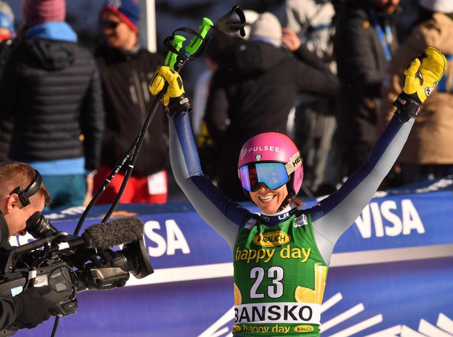 Elena Curtoni  (EPA/GEORGI LICOVSKI)