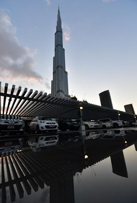 Burj Khalifa (Photo by Giuseppe CACACE / AFP)