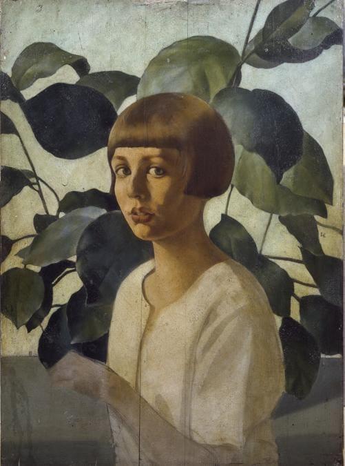FELICE CASORATI - Studio per il ritratto di Renato Gualino1922-23 - olio su tavola, Collezione privata Torino. Foto Giuseppe Dell'Aquila, © SIAE