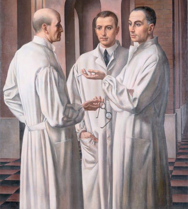 UBALDO OPPI - I chirurghi, inv. A 6951926. Olio su tela, Museo Civico di Palazzo Chiericati, Vicenza