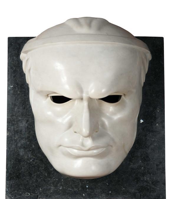 ADOLFO WILDT - Maschera di Mussolini, inv. 2679, 1923-1925 - Altorilievo in marmo, Galleria Nazionale d'Arte Moderna e Contemporanea. Su concessione del Ministero per i Beni e le Attività Culturali