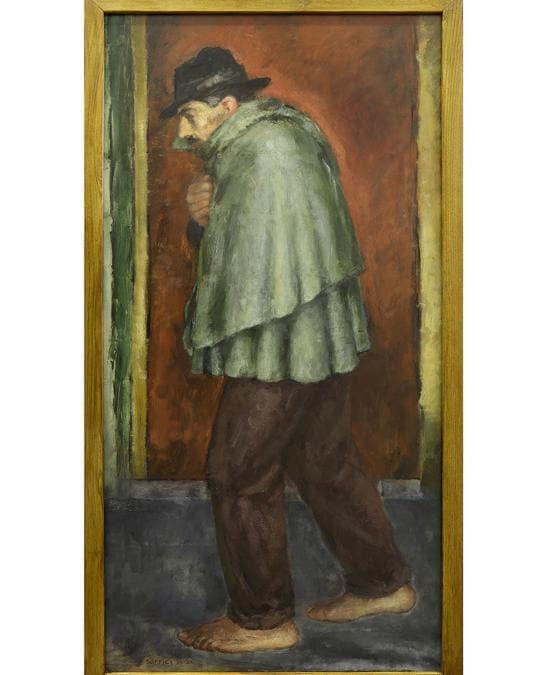 ARDENGO SOFFICI - Millenovecentodiciannove (Il reduce)1929-1930 - Olio su carta applicata su tela, Museo di Palazzo Pretorio, Prato. © Archivio Museo di Palazzo Pretorio, Prato. Foto: Alena Fianova
