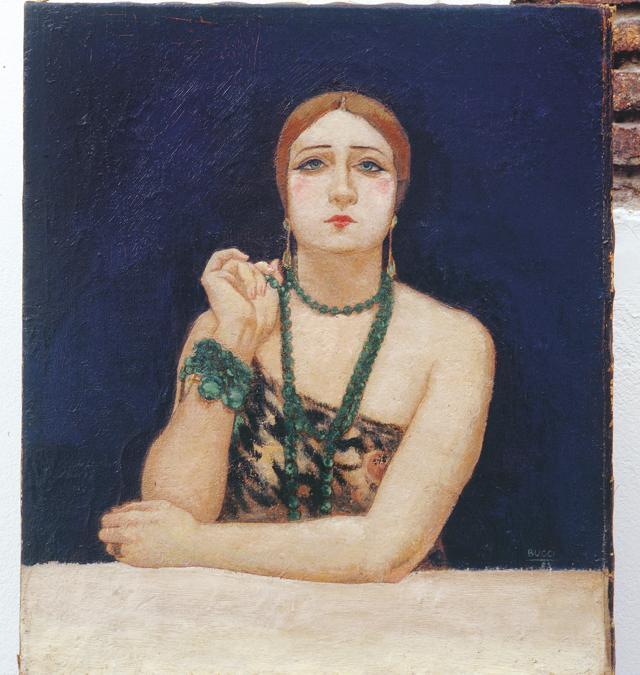 ANSELMO BUCCI - Rosa Rodrigo (La bella), 1923 - olio su tela, Collezione privata, Courtesy Matteo Mapelli, Galleria Antologia Monza