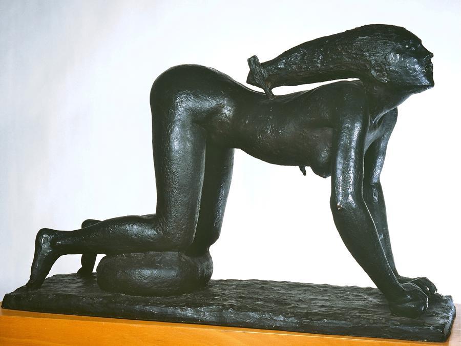 ARTURO MARTINI - La lupa 1930-1931 - bronzo, Collezione privata - Foto di Luca Bossaglia