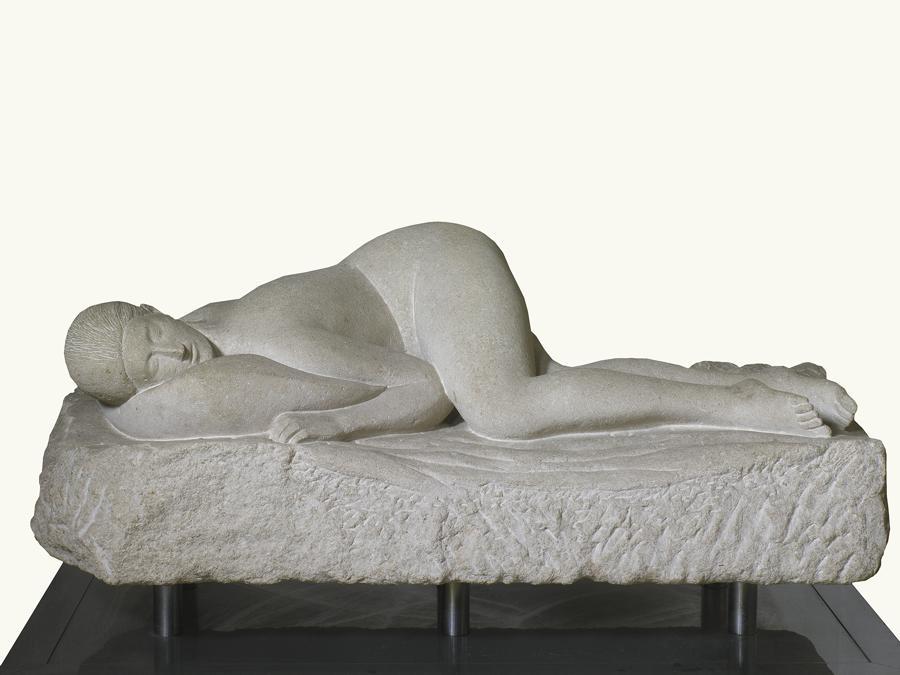 ARTURO MARTINI - La Pisana, 1928 - pietra di Vicenza, Collezione privata. Foto Saporetti Immagini d'Arte