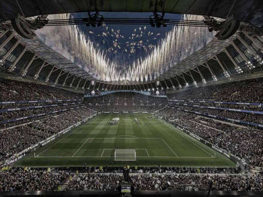 Sport e Cultura.  Tottenham Hotspur Stadium, London, Uk