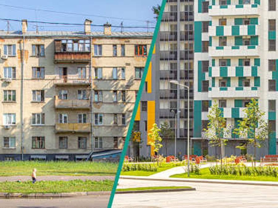 Futuri grandi progetti.  The renovation program for Moscow's residential buildings, Moscow, Russia
