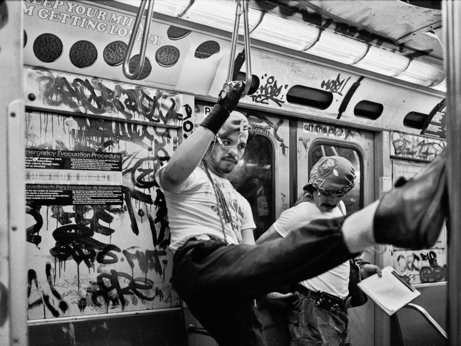 New York, 1985. (Foto Ferdinando Scianna)