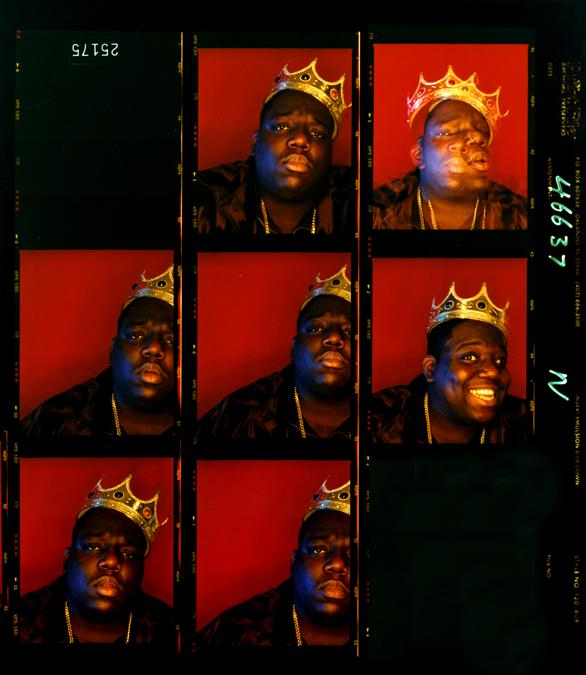 Barron Claiborne, Biggie Smalls, King of New York, Wall Street, New York, 1997.