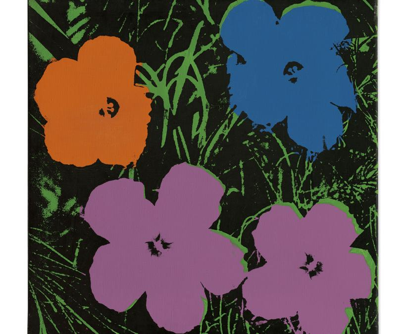 ndy Warhol. Flowers. Price Realised £ 2,111,250 . Estimate £1,000,000 - £1,500,000