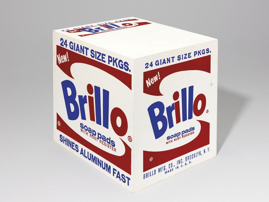ndy Warhol. Brillo Box Pads Box. Price Realised £383,250. Estimate £ 300,000-£ 500,000