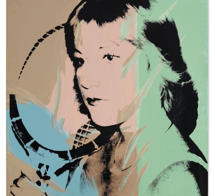 Andy Warhol. Chris Evert. Price Realised £ 212,500. Estimate £ 200,000 - £ 300,000