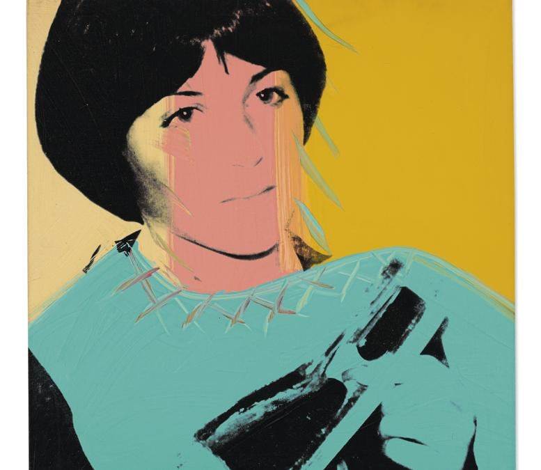Andy Warhol. Dorothy Hamill. Price realised £ 237,500. Estimate £ 200,000-£ 300,000