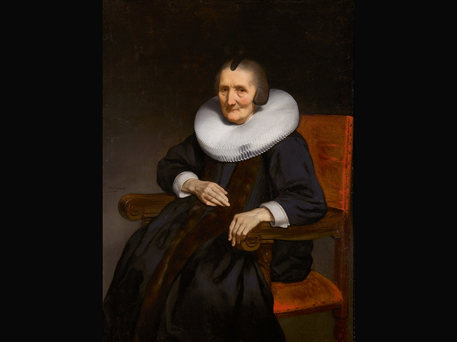 Portrait of Margaretha de Geer (1583-1672), 1669. © Dordrechts Museum