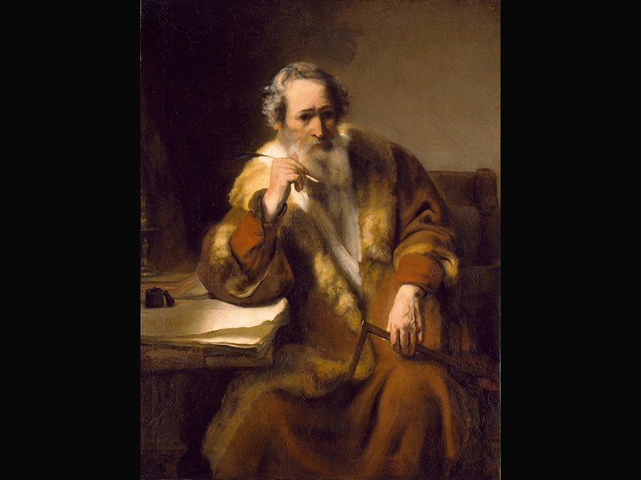 The Apostle Thomas. Nicolaes Maes 1656. © Museumslandschaft Hessen Kassel, Gemäldegalerie Alte Meister