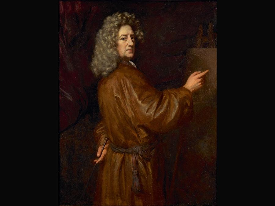 Self-portrait. Nicolaes Maes 1680-5. © Dordrechts Museum