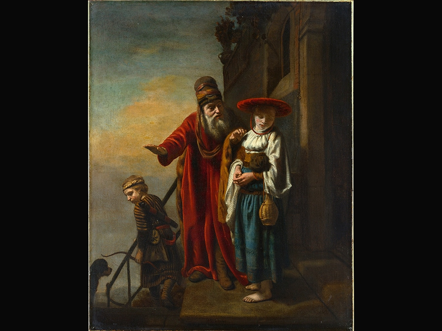 Dismissal of Hagar and Ishmael. Nicolaes Maes, 1653. © The Metropolitan Museum of Art, New York