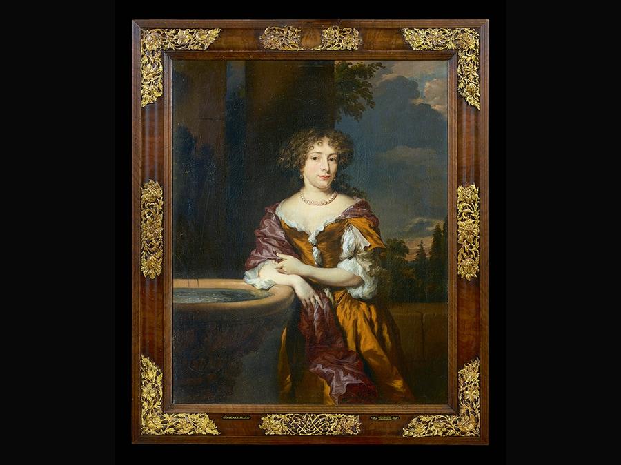 Portrait of Maria Magdalena van Alphen (1656-1723). Nicolaes Maes, about 1677. © FOTO GALERIE NEUSE, BREMEN