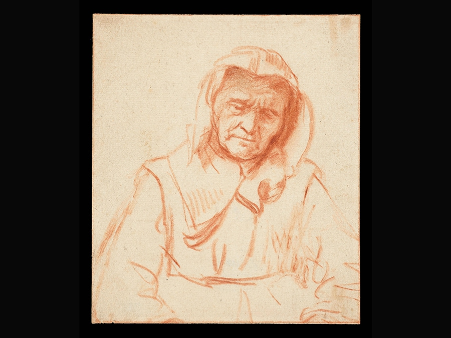 Study of an Old Woman. Nicolaes Maes, about 1656. © Rijksmuseum Amsterdam