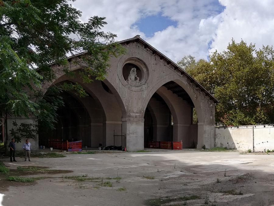 Arsenale Pontificio. (Courtesy Insula arch. e ingegneria Srl)