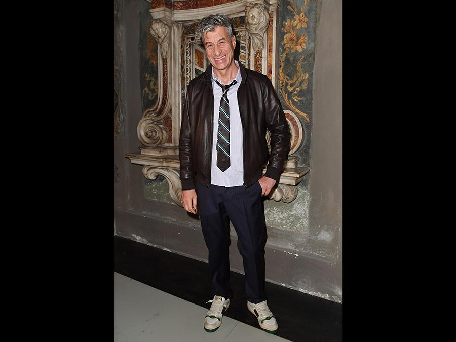 Maurizio Cattelan (Jacopo M. Raule/Getty Images)