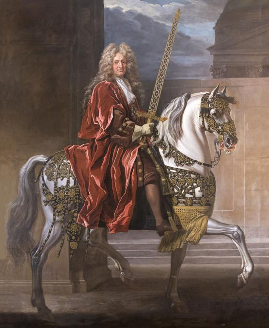 John Closterman «Equestrian Portrait of a Lord Maylor of London» c. 1700