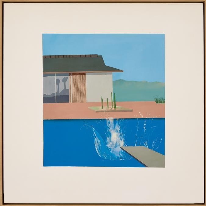 Lotto 16. David Hockney, The Splash, 1966, est.  £ 20-30 milioni